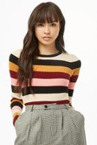 Forever21 Multicolored Striped Sweater