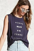 Forever21 Woman Graphic Tee