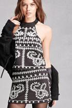 Forever21 Twelve Embroidered Mini Skirt