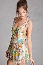 Forever21 Z And L Europe Tropical Romper