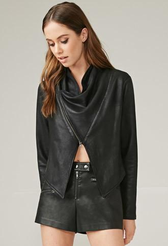 Forever21 Marina T. Coated Jacket