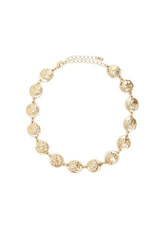 Forever21 Chain-link Coin Choker