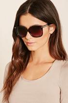 Forever21 Metal Accent Square Sunglasses
