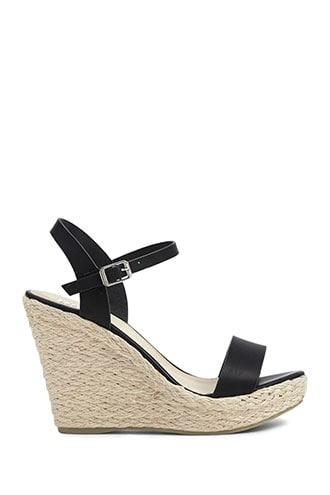 Forever21 Rope Wedge Sandals