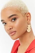 Forever21 Tiered Geo Drop Earrings
