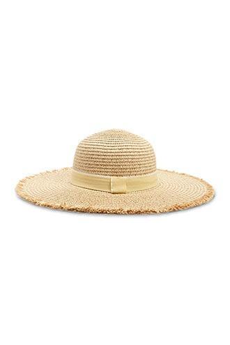 Forever21 Frayed-brim Straw Hat