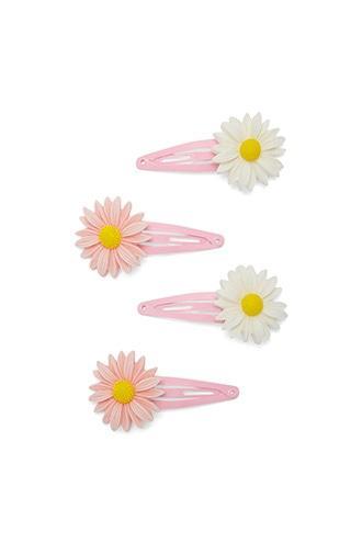 Forever21 Daisy Snap Hair Clips