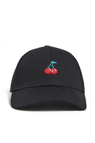 Forever21 Men Cherry Graphic Dad Hat