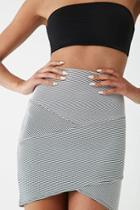 Forever21 Striped Tulip Skirt