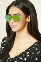 Forever21 Round Iridescent Sunglasses
