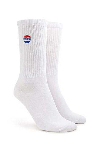 Forever21 Pepsi Crew Socks