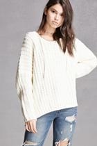 Forever21 Hooded Dolman Sweater