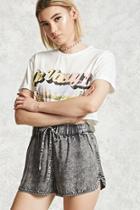 Forever21 Contemporary Denim Shorts