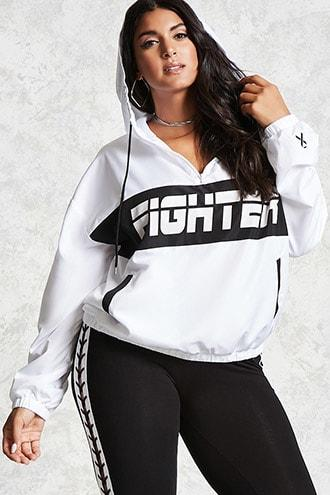 Forever21 Plus Size Bca Fighter Pullover
