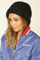 Forever21 Women's  Knit Wool Beanie