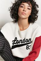 Forever21 London Colorblock Sweater