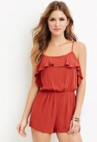 Forever21 Flounce Cami Romper