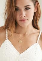 Forever21 Moon And Lola Small Dalton L Necklace
