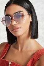 Forever21 Wire Cateye Sunglasses