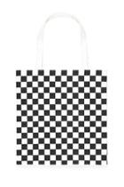 Forever21 Checkered Canvas Tote