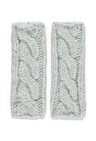 Forever21 Cable Knit Fingerless Gloves
