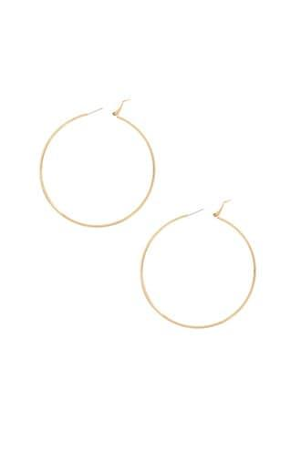 Forever21 Large High-polish Hoop Earrings