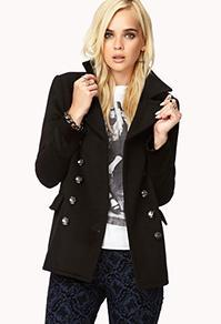 Forever21 City-chic Peacoat