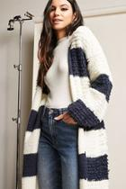 Forever21 Boucle Knit Stripe Sweater