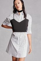 Forever21 Striped Combo Dress