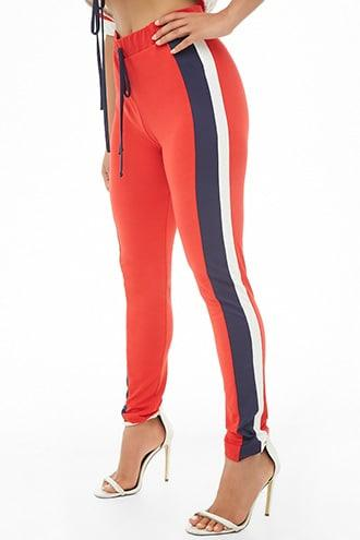 Forever21 Colorblock Knit Pants