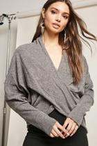 Forever21 Heathered Wrap-inspired Top