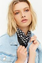 Forever21 Houndstooth Square Scarf