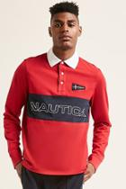Forever21 Nautica Colorblock Polo