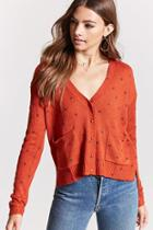 Forever21 Abstract Pattern Cardigan