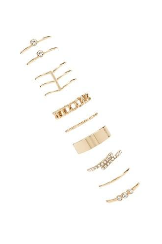 Forever21 Assorted Midi Ring Set
