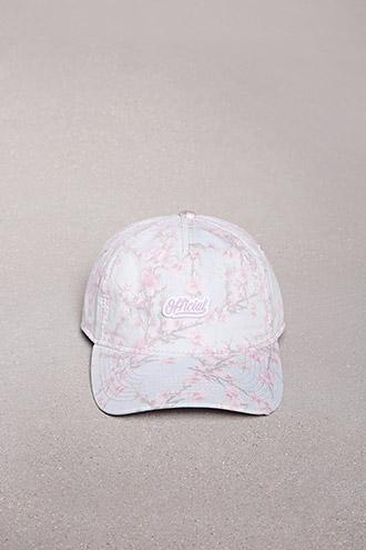 Forever21 Official Floral Logo Patch Cap