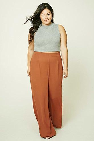 Forever21 Plus Size Palazzo Pants