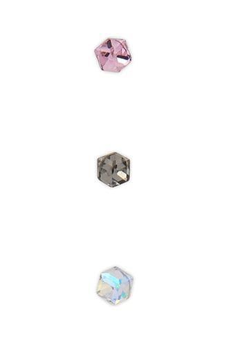 Forever21 Iridescent Rhinestone Earring Set