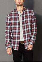 21 Men Classic Fit Tartan Plaid Shirt