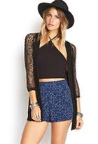 Forever21 Pleated Baroque Shorts