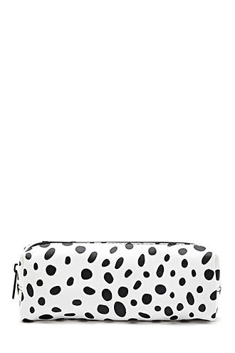 Forever21 Polka Dot Print Makeup Bag