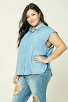 Forever21 Plus Size Chambray Shirt