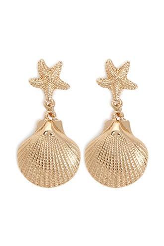 Forever21 Seashell Starfish Earrings