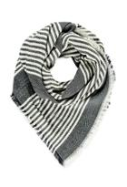 Forever21 Frayed Stripe-patterned Scarf