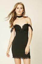 Forever21 Women's  Sweetheart Bodycon Dress