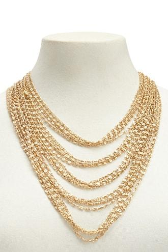 Forever21 Chain-link Layered Necklace