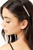 Forever21 Rhinestone Barrette Hair Clip