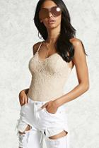 Forever21 Lace Cami Bodysuit