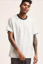Forever21 Heathered Striped Tee