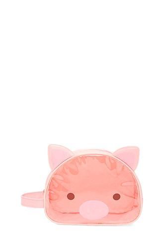 Forever21 Pig Face Makeup Bag